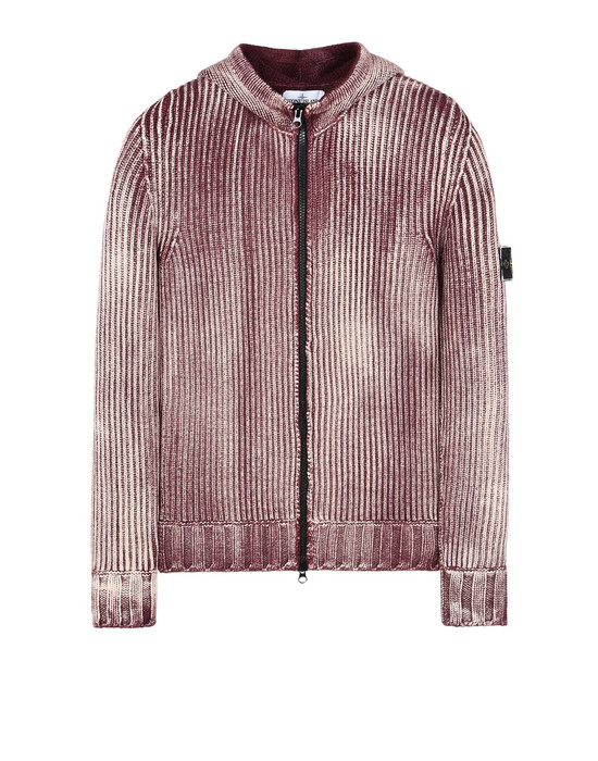 STONE ISLAND Cardigan 569D6 COLOUR CORROSION TREATMENT