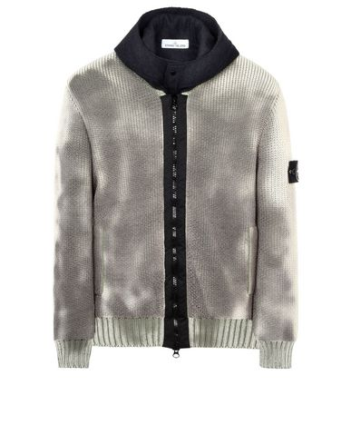 STONE ISLAND カーディガン 583B4 ICE KNIT_THERMO SENSITIVE YARN_PRESIDENT'S KNIT