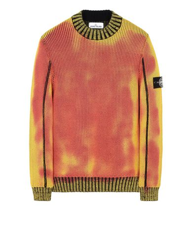 STONE ISLAND Crewneck 547B4 ICE KNIT_THERMO SENSITIVE YARN