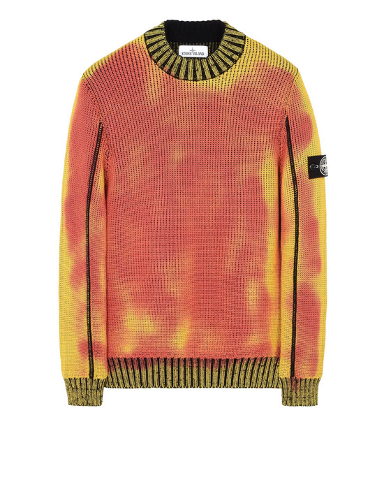 Crewneck 547B4 ICE KNIT_THERMO SENSITIVE YARN STONE ISLAND - 0