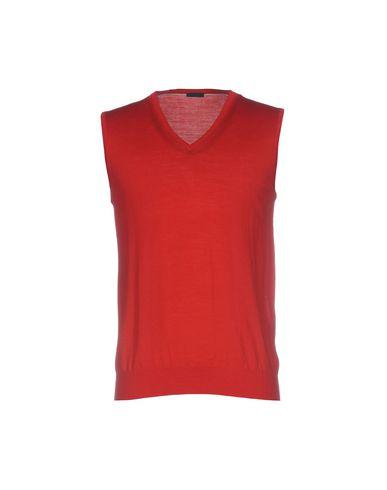 Купить Мужской свитер PAOLO PECORA красного цвета
