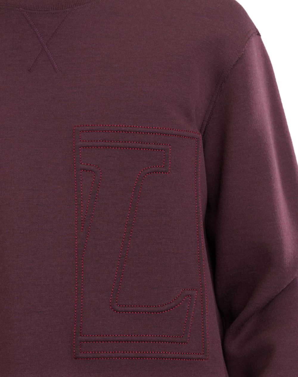 "SWEATSHIRT WITH ""L"" APPLIQUÉ - Lanvin"
