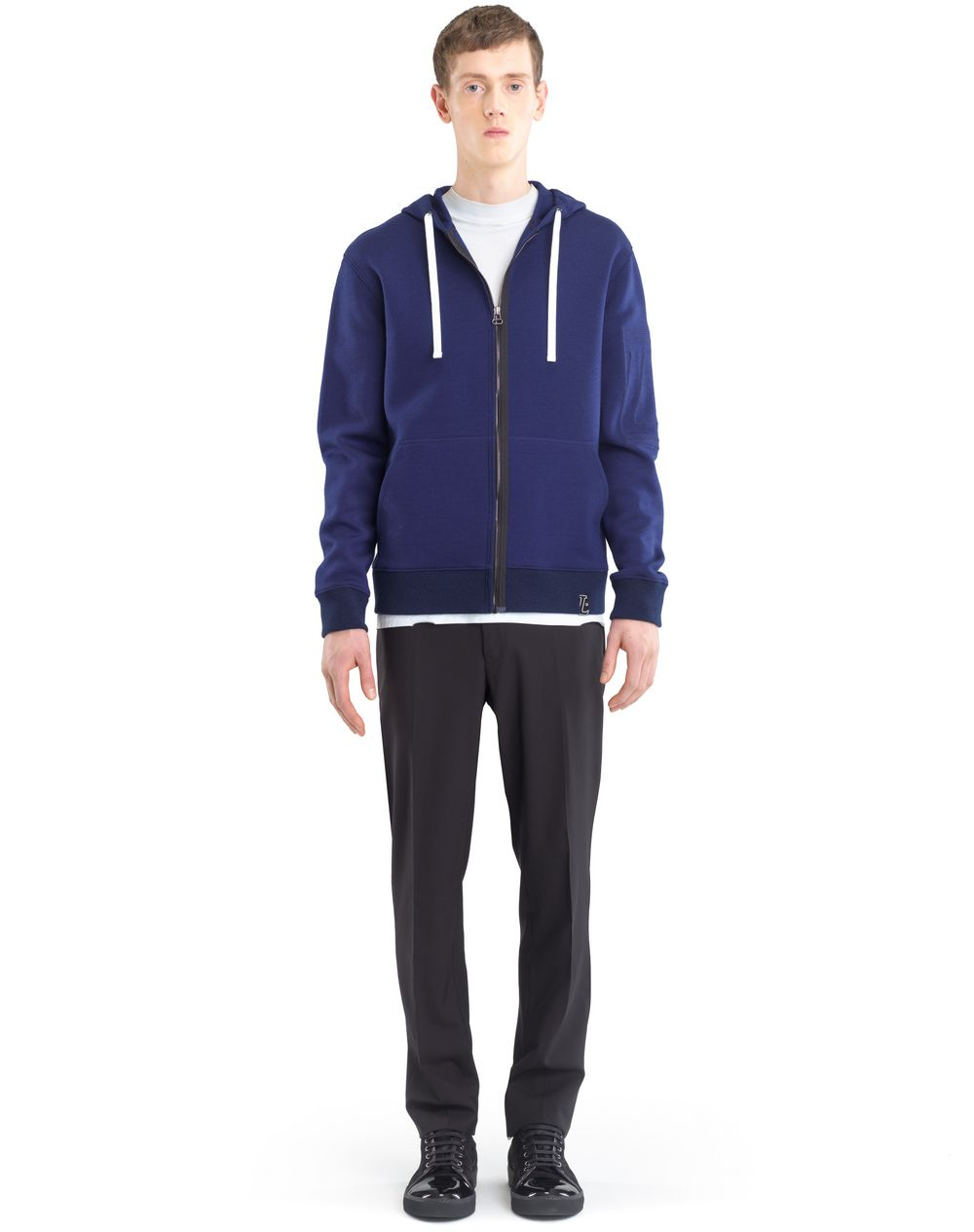 COMPACT JERSEY HOODIE - Lanvin