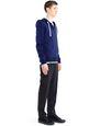 LANVIN Knitwear & Sweaters Man COMPACT JERSEY HOODIE f