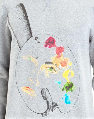 """LANVIN """"PALETTE"""" SWEATSHIRT BY CÉDRIC RIVRAIN Knitwear & Sweaters U a"""
