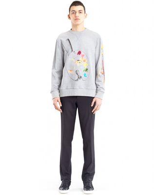 """LANVIN """"PALETTE"""" SWEATSHIRT BY CÉDRIC RIVRAIN Knitwear & Sweaters U r"""