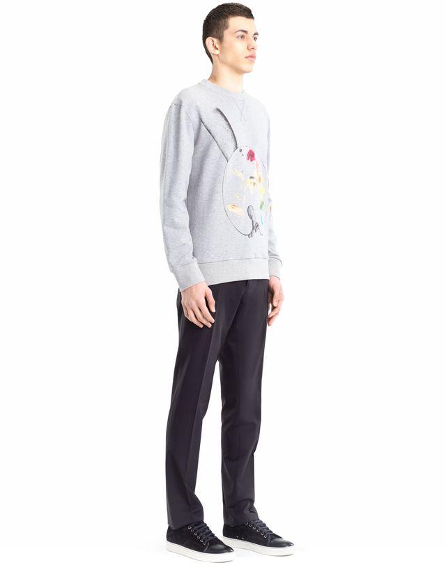 """LANVIN """"PALETTE"""" SWEATSHIRT BY CÉDRIC RIVRAIN Knitwear & Sweaters U e"""