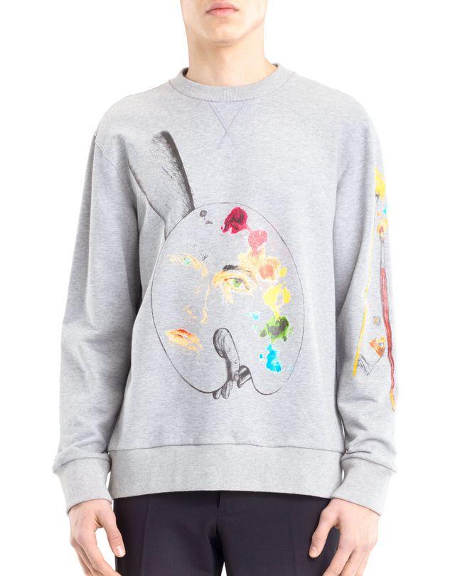"""LANVIN """"PALETTE"""" SWEATSHIRT BY CÉDRIC RIVRAIN Knitwear & Sweaters U f"""