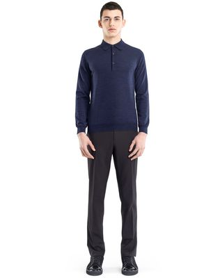 LANVIN POLO COLLAR SWEATER Knitwear & Sweaters U r
