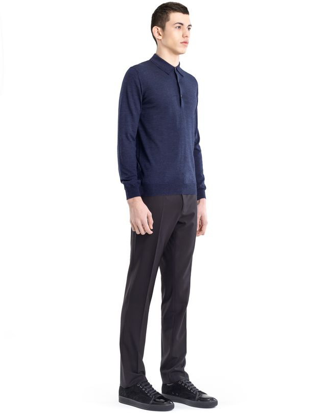 LANVIN POLO COLLAR SWEATER Knitwear & Sweaters U e