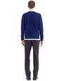 LANVIN Knitwear & Jumpers Man MIXED STITCH CREW NECK JUMPER f