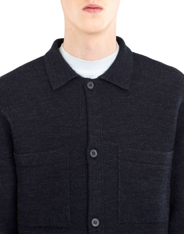 LANVIN WEFT STITCH CARDIGAN Knitwear & Sweaters U a