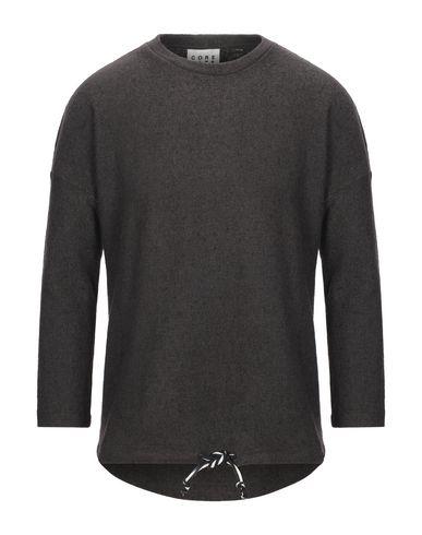 Купить Мужской свитер CORELATE темно-коричневого цвета