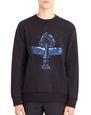 LANVIN Knitwear & Sweaters Man PRINTED SWEATSHIRT  f