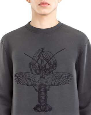 "LANVIN ""FLYING LOBSTER"" SWEATSHIRT Knitwear & Sweaters U a"