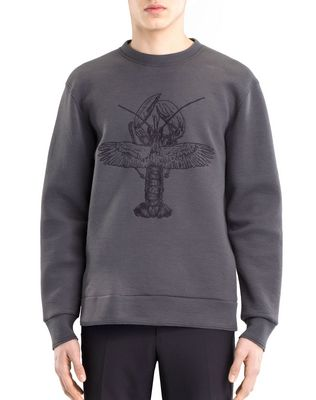 "LANVIN ""FLYING LOBSTER"" SWEATSHIRT Knitwear & Sweaters U f"
