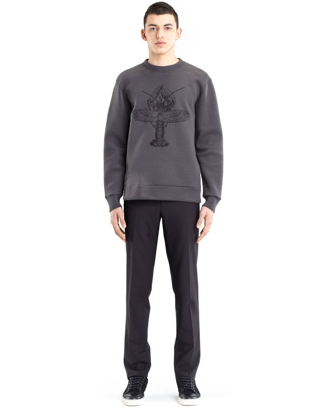 "LANVIN ""FLYING LOBSTER"" SWEATSHIRT Knitwear & Sweaters U r"