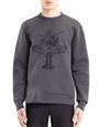 LANVIN Knitwear & Sweaters Man EMBROIDERED SWEATSHIRT f