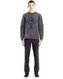 LANVIN Knitwear & Jumpers Man EMBROIDERED SWEATSHIRT f