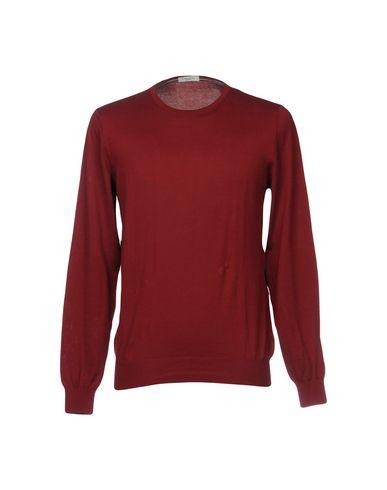 Фото - Мужской свитер PAOLO PECORA красно-коричневого цвета
