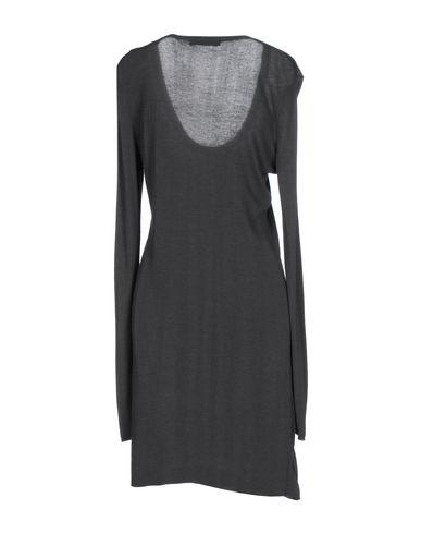 Фото 2 - Женское короткое платье SUPERVINTAGE свинцово-серого цвета