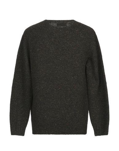 Фото 2 - Мужской свитер  темно-зеленого цвета