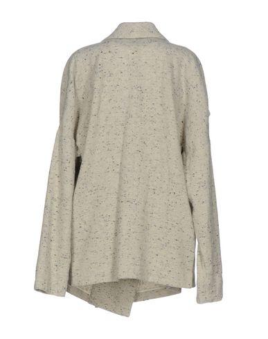 Фото 2 - Женское пальто или плащ FORTE_FORTE светло-серого цвета