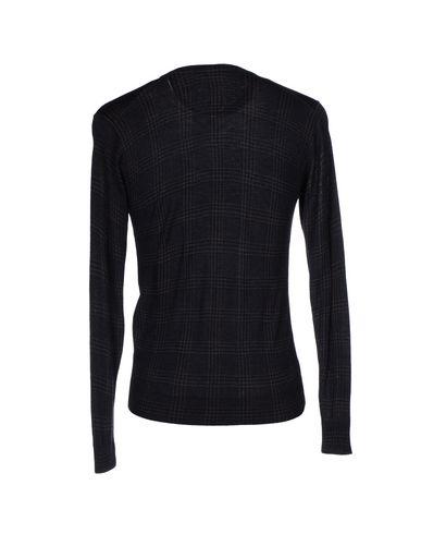 Фото 2 - Мужской свитер  темно-синего цвета