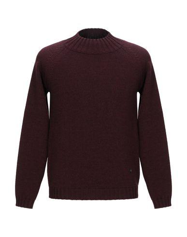 Фото - Мужской свитер LABORATORI ITALIANI красно-коричневого цвета
