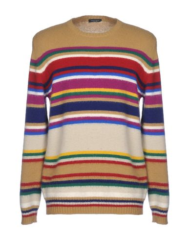 Фото - Мужской свитер ROBERTO COLLINA цвет верблюжий