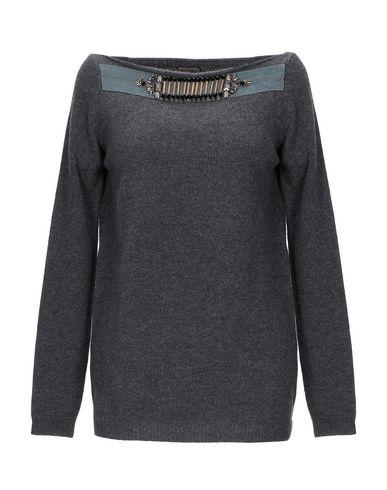Фото - Женский свитер MALÌPARMI свинцово-серого цвета