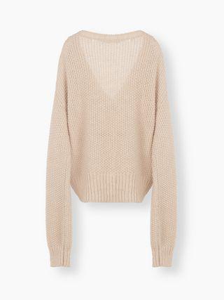 청키 스웨터