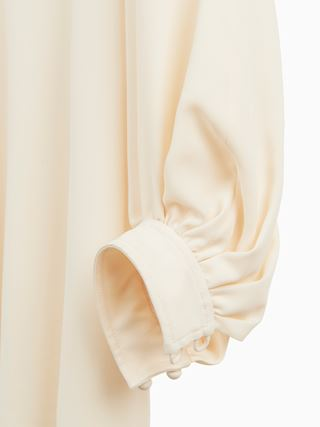 Button-detail dress