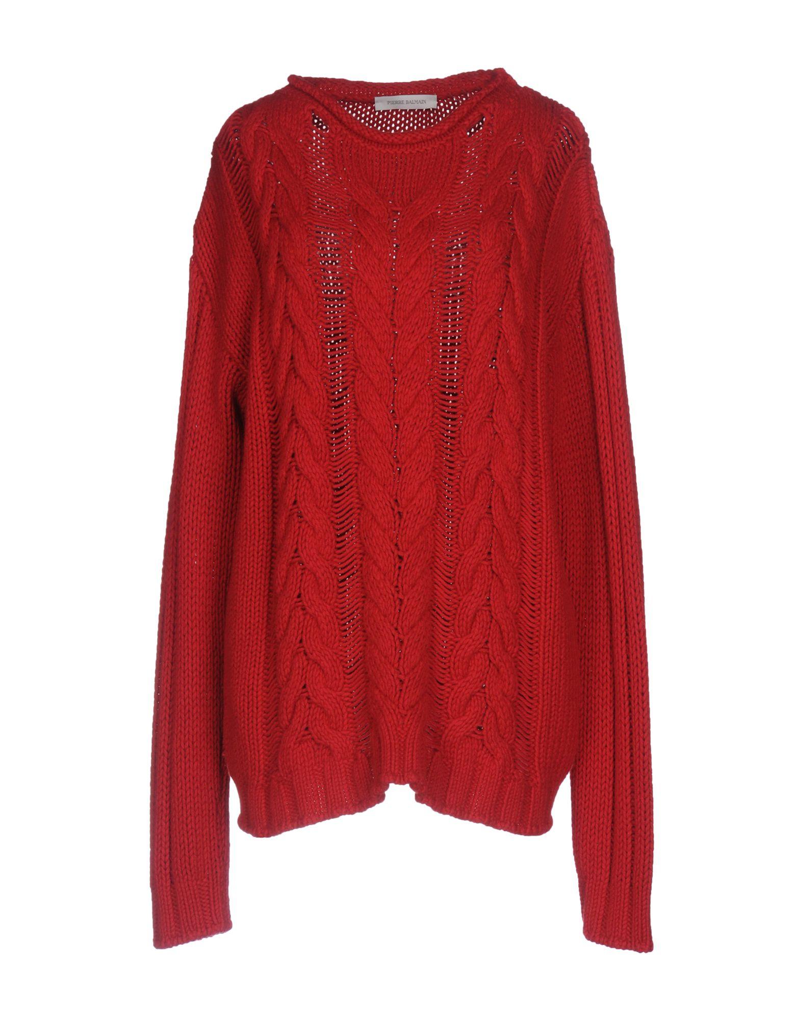 PIERRE BALMAIN Damen Pullover Farbe Rot Größe 6