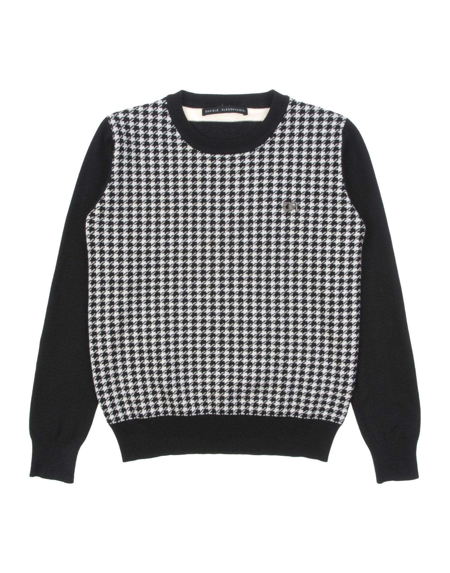 DANIELE ALESSANDRINI Jungen 3-8 jahre Pullover Farbe Schwarz Größe 6