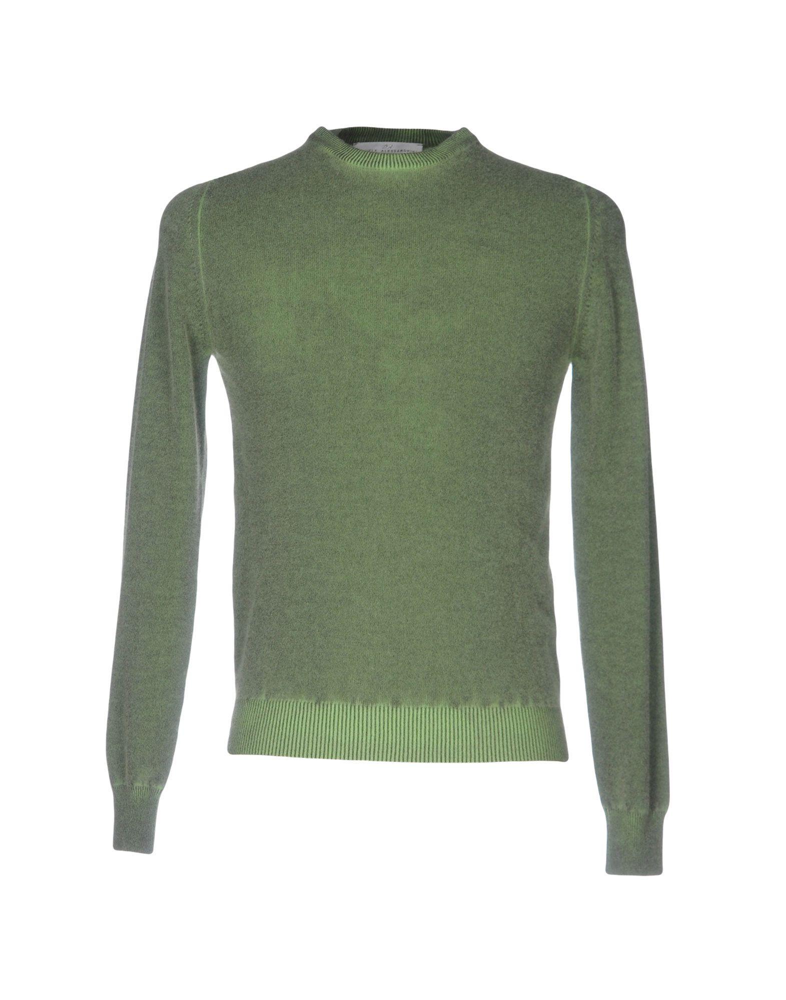 DANIELE ALESSANDRINI Herren Pullover Farbe Grün Größe 5