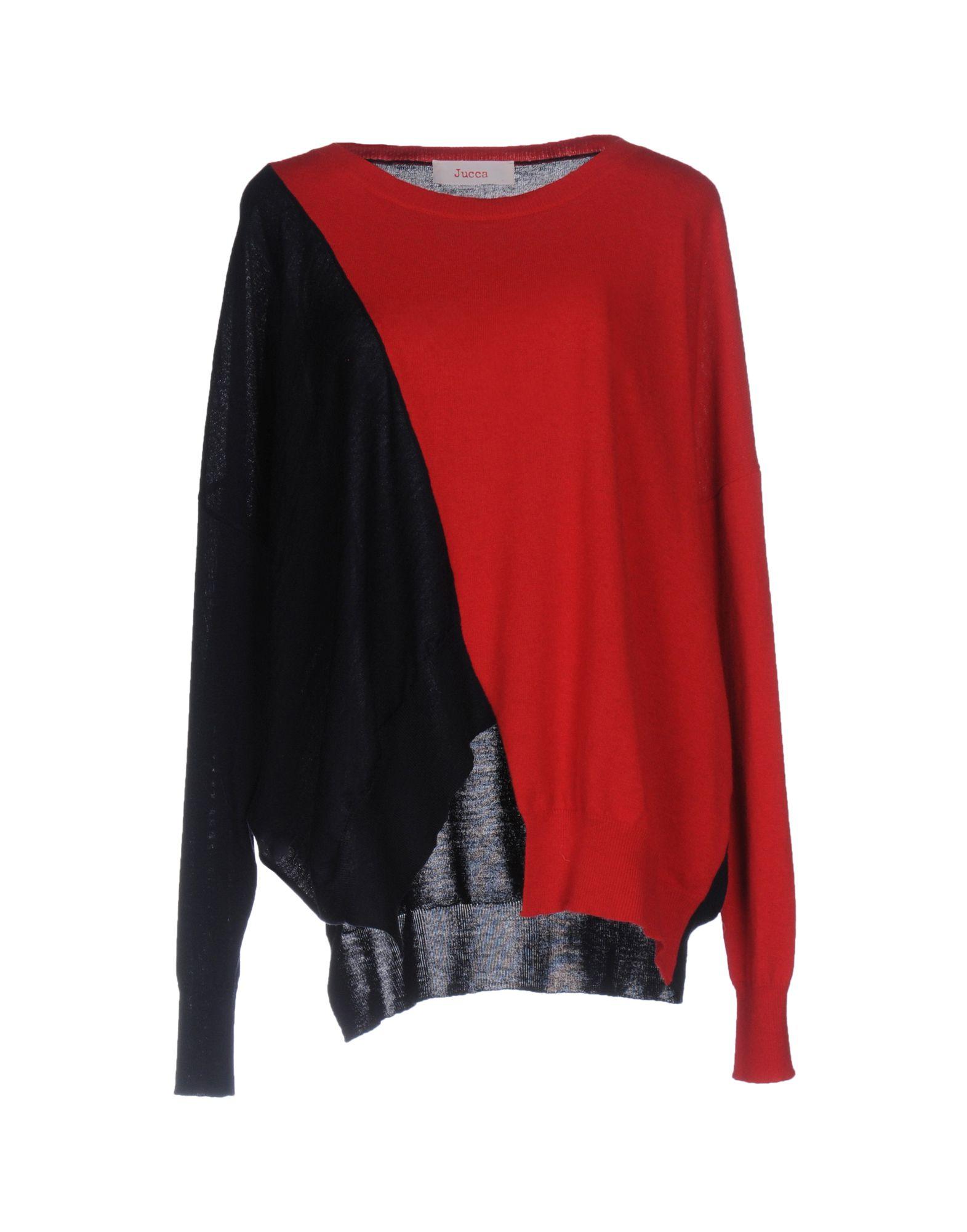 JUCCA Damen Pullover Farbe Rot Größe 3