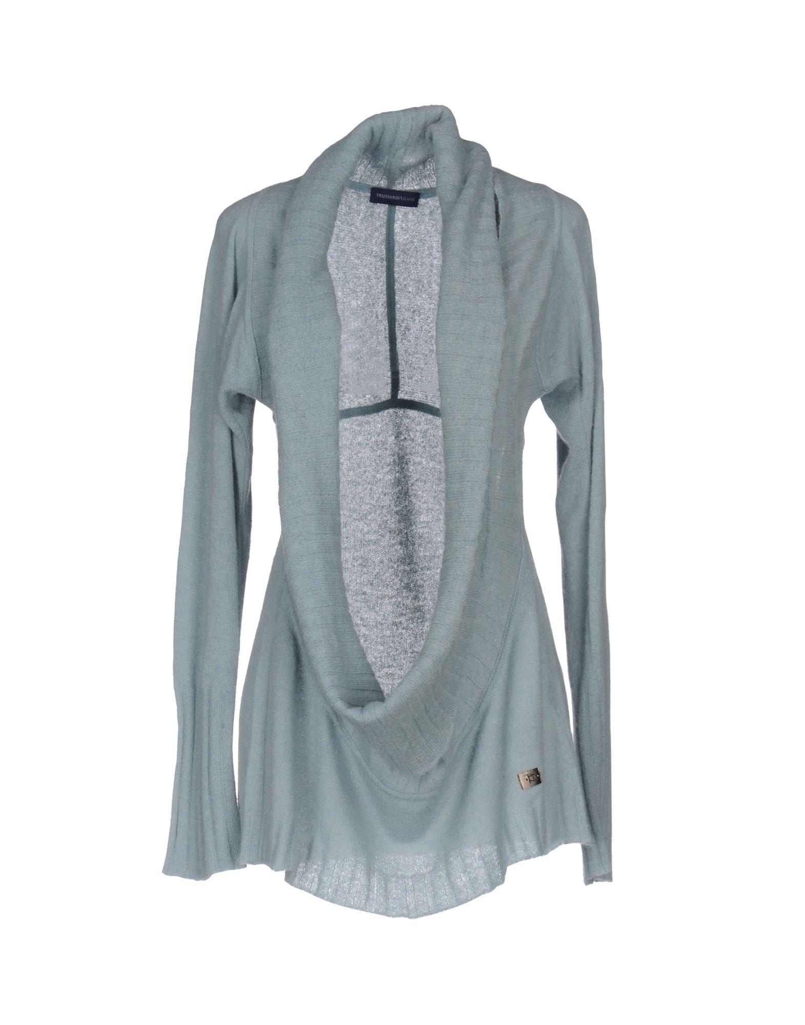 TRUSSARDI JEANS Damen Pullover Farbe Himmelblau Größe 6 jetztbilligerkaufen