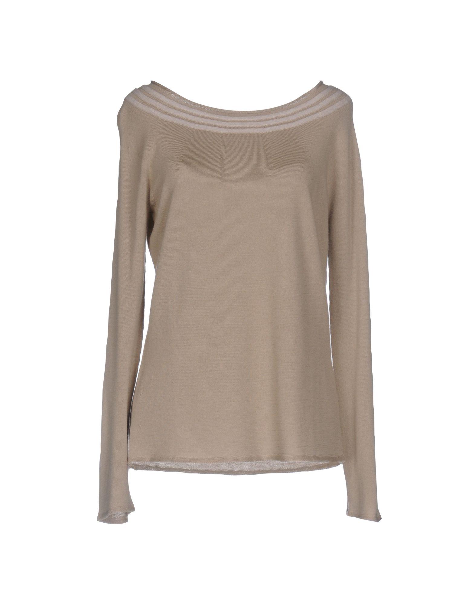 ARMANI COLLEZIONI Damen Pullover Farbe Beige Größe 6