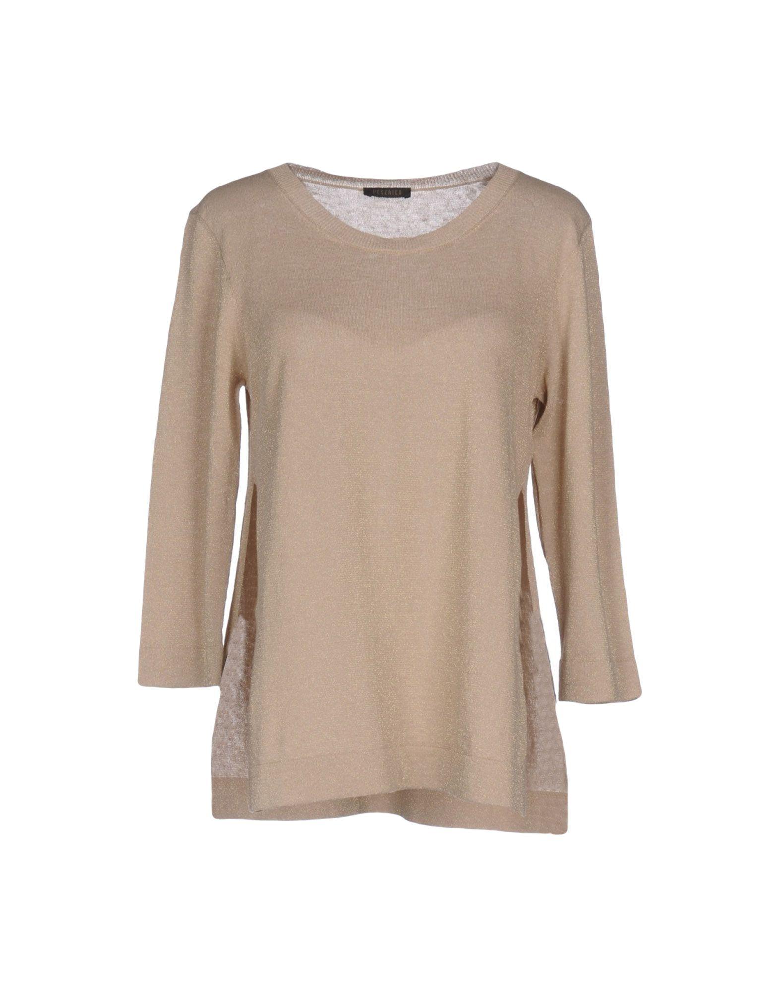 PESERICO Damen Pullover Farbe Sand Größe 5 - broschei