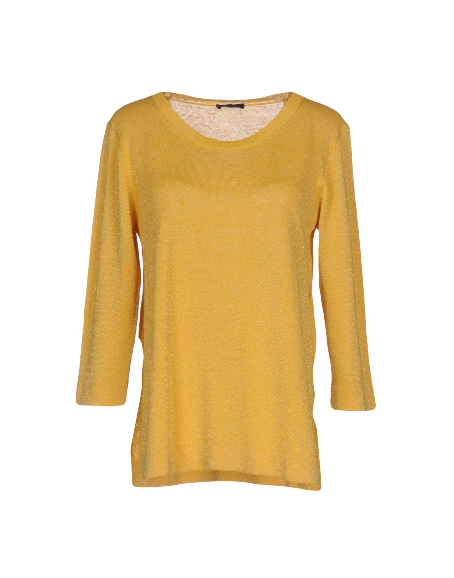PESERICO Damen Pullover Farbe Gelb Größe 5