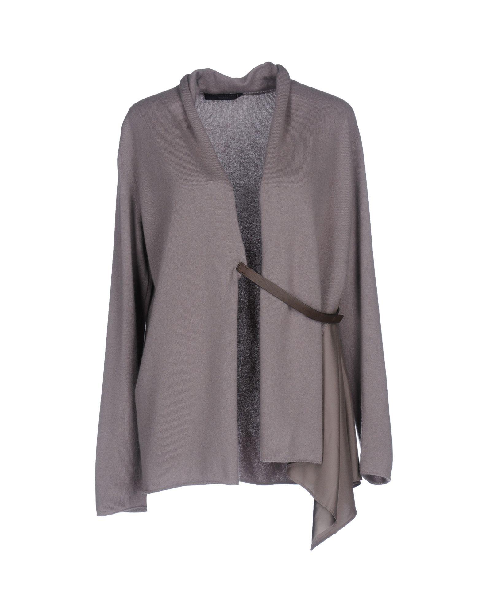 FABIANA FILIPPI Damen Strickjacke Farbe Grau Größe 5