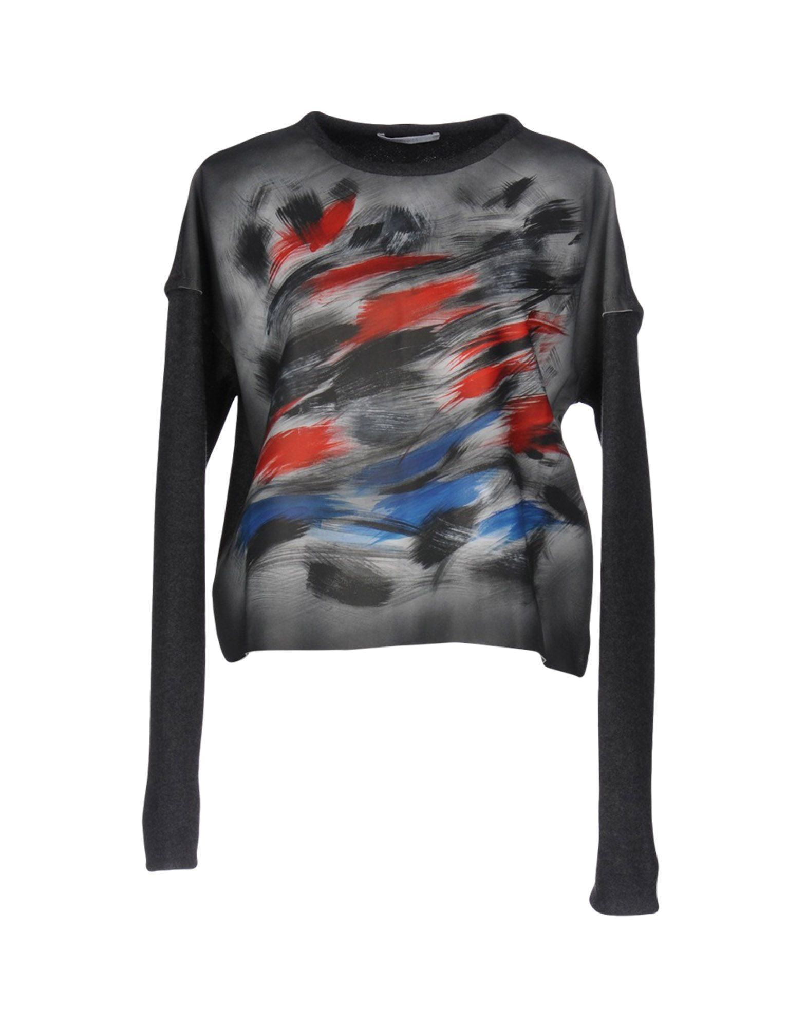 DE PIETRI Damen Pullover Farbe Grau Größe 4