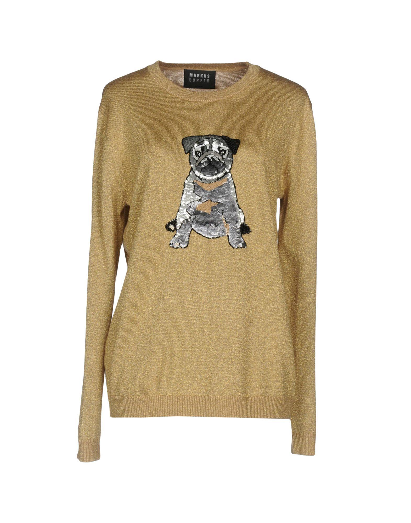MARKUS LUPFER Damen Pullover Farbe Beige Größe 5