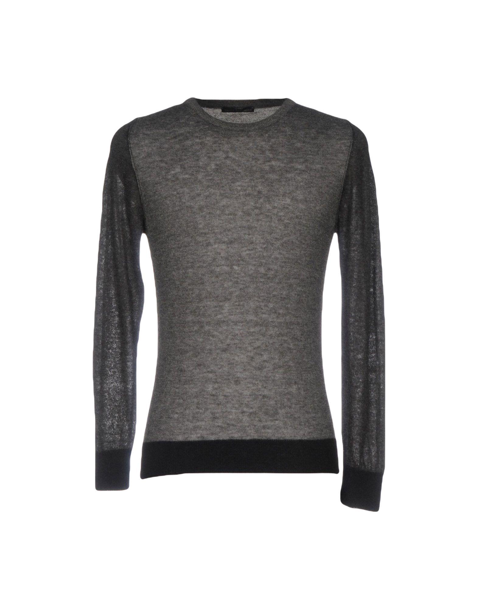 DANIELE ALESSANDRINI HOMME Herren Pullover Farbe Granitgrau Größe 2