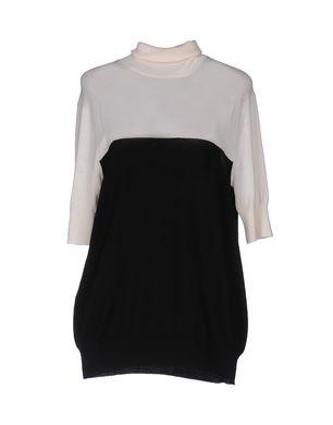 NEIL BARRETT Damen Rollkragenpullover Farbe Schwarz Größe 7 Sale Angebote