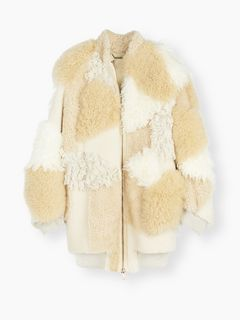 Giacca in shearling