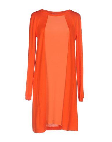 Короткое платье .TESSA. Цвет: оранжевый
