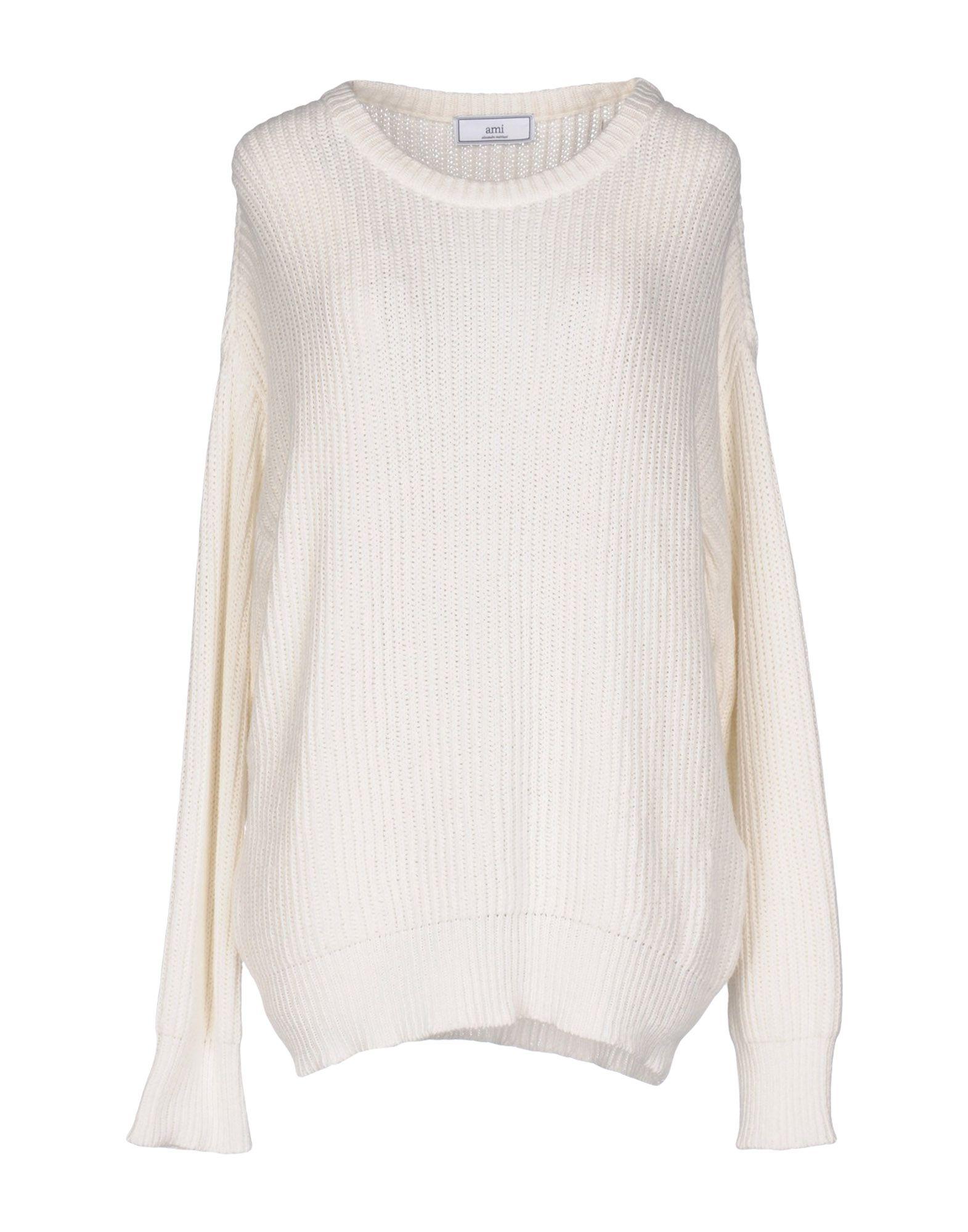 AMI ALEXANDRE MATTIUSSI Sweater in White