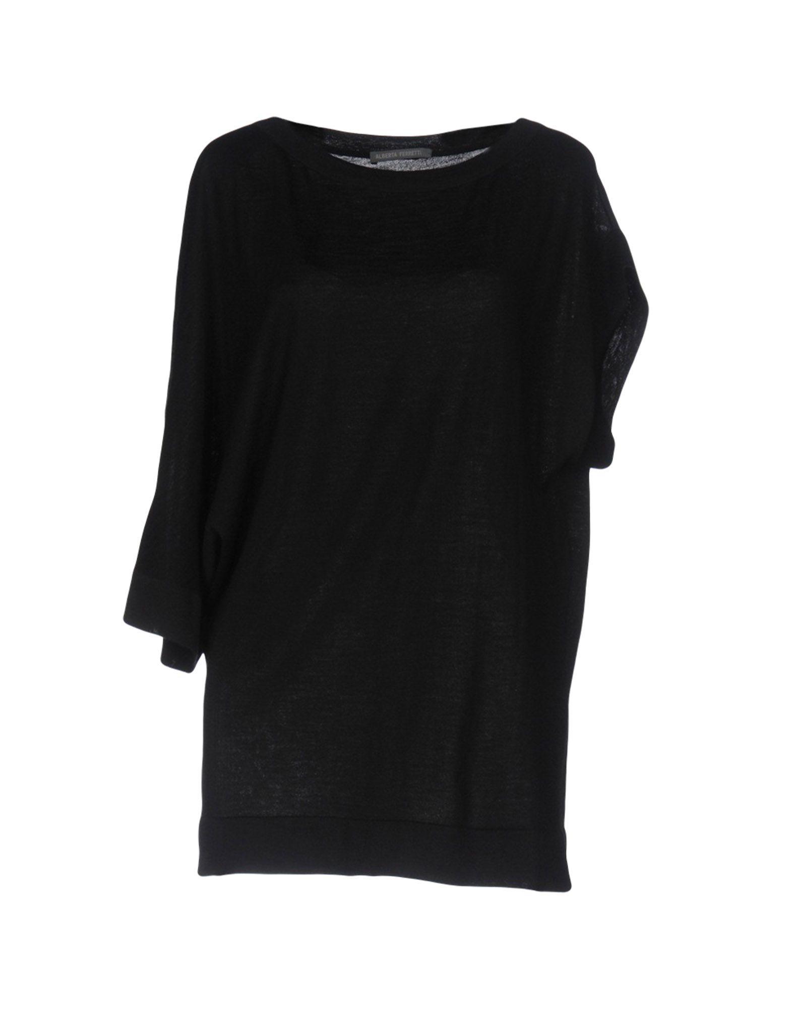 ALBERTA FERRETTI Damen Pullover Farbe Schwarz Größe 5 jetztbilligerkaufen